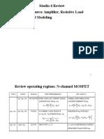 Small signal analysis