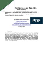 Decision Markoviana