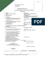 Lampiran II SuratSekretaris Daerah Kabupaten Sambas