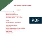 registro pedagogico quimica