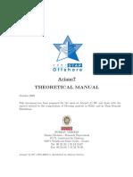 Ariane Theoretical Manual
