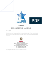Ariane Theoretical Manual