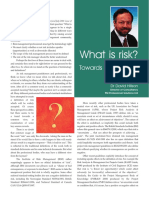 What is Risk - A Common Definition