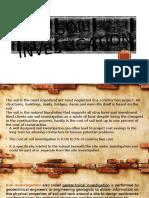 Soil Investigation 2