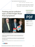 Fracking and Air Pollution Topic of 2015 Knight-Risser Prize Symposium _ JSK