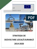 Strategia de Dezvoltare Locala Durabila_comuna Miclesti
