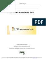 1300210201-PowerPoint 2007 Tutorial-Updated October 2010