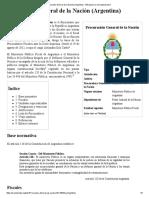 Procurador General de La Nación (Argentina) - Wikipedia, La Enciclopedia Libre