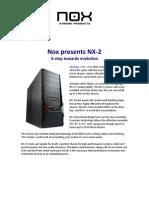 Nox NX2 case specifications