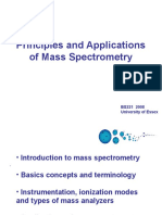 Principles of Mass Spectrometry