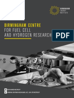 Birmingham Centre for Fuel Cell & Hydrogen Research