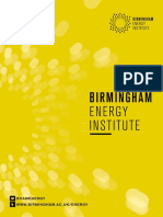 Birmingham Energy Institute Brochure