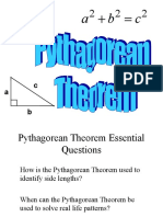 Pythagorean Theorem Instructional PowerPoint