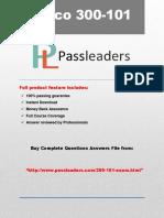 Passleader 300-101 Study Material