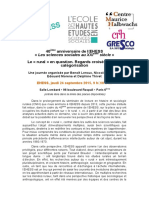 40e Anniversaire EHESS Le Rural en Question_24 Septembre 2015