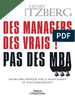 Outil Des Managers Des Vrais Pas Des MBA