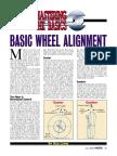 Mastering the Basics - Basic Wheel Alignment