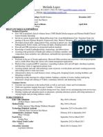 cope resume ml7 31 16