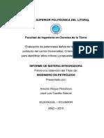 Evaluación de potenciales daños de la Tubería de poliducto del cantón Esmeraldas Criterios geológicos para identificar sitios críticos y propuestas de variantes.pdf
