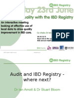 IBD Audit & Registry - Where Next