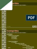 ESCATOLOGIA PRESENTACION