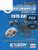 EXEDY Friction Technics Catalog Fall 2014 Web
