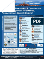 The Global Engineering, Fabrication & Construction Project Management for Energy & Petrochemical Markets Berlin Summit 24-25 November 2016, Germany