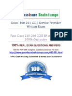 Pass4sure 400-201 Question
