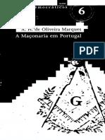 A H de Oliveira Marques - A Maçonaria Em Portugal