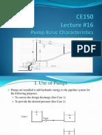 Lecture 16 Pumps