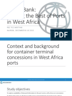 Making the Best of Ports in Africa