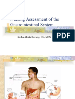Nursing Assessment of the Gastrointestinal System[1]