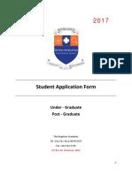 Smu Application Form 2017