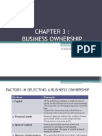 Note Pb201 Entrepreneurship Chapter3