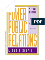 Leonard Safir - Power Public Relations How To Master The New...pdf