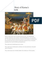 Unknown Story of Karna