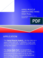hang muscle snatch