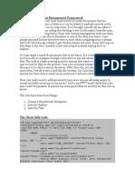 A Basic Ajax Content Management Framework