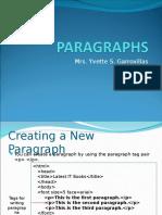 Lec 4 - PARAGRAPHS.ppt