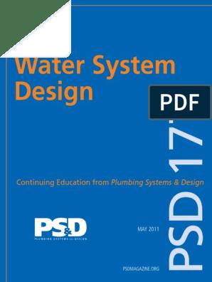 Psd Ceu 177may11 Water Supply Network Pressure
