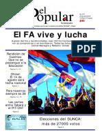 El Popular 357 Órgano de Prensa Oficial del Partido Comunista de Uruguay