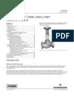 Válvulas Fisher EWD, EWS y EWT
