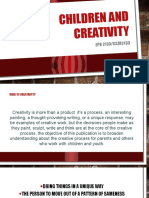 Children and Creativity (1)