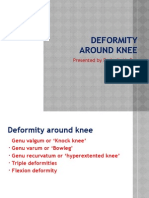 Deformity Around Knee