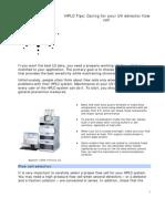 FAQ Approved PDF UV Det Flow Cell