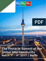MBA World Summit 2017 - Summit Brief