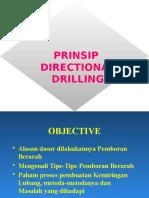 Prinsip Directional Drilling