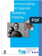 Communicating With Spanish Speaking Patients