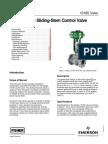 Design 1018S Sliding-Stem Control Valve