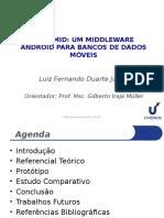 OpenMid - Middleware Android para bancos de dados móveis